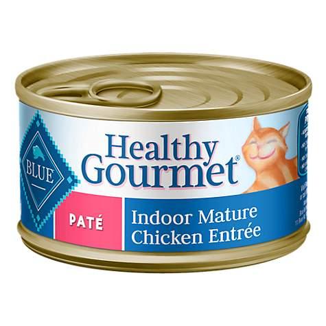 Blue Buffalo Canned Cat Food Mature