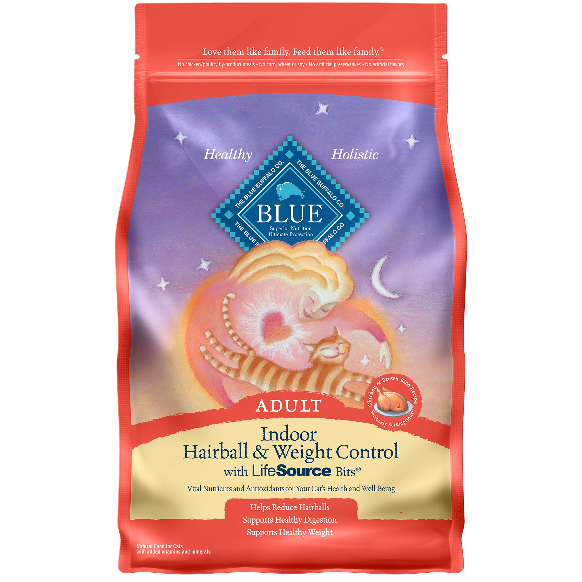 Blue Buffalo Blue Indoor Hairball Amp Weight Control Adult