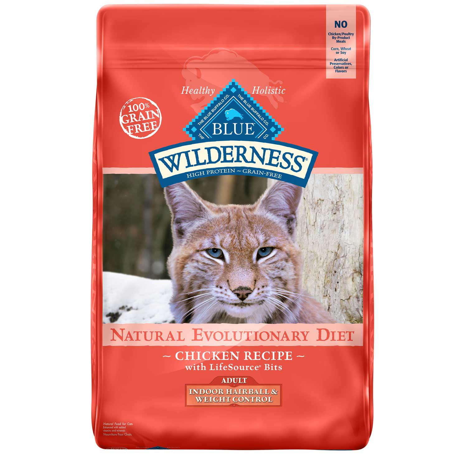Blue Buffalo Blue Wilderness Adult Indoor Hairball & Weight