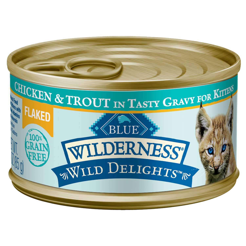 Blue Wilderness Canned Kitten Food