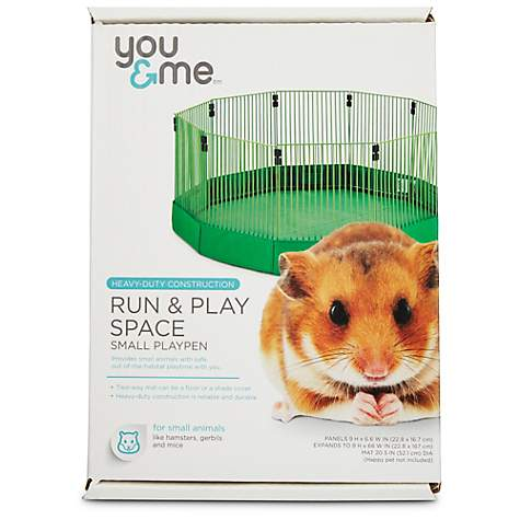 You Me Run Play Space Small Animal Playpen Petco