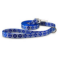Good2Go Reflective Blue Bone Dog Leash