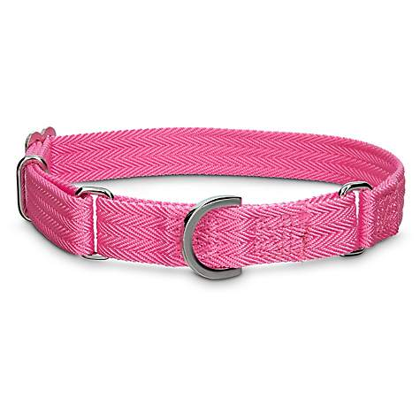 Good2Go No-Slip Pink Martingale Dog Collar