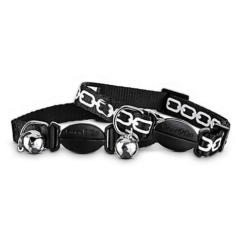 Good2Go Black Link Breakaway Cat Collars