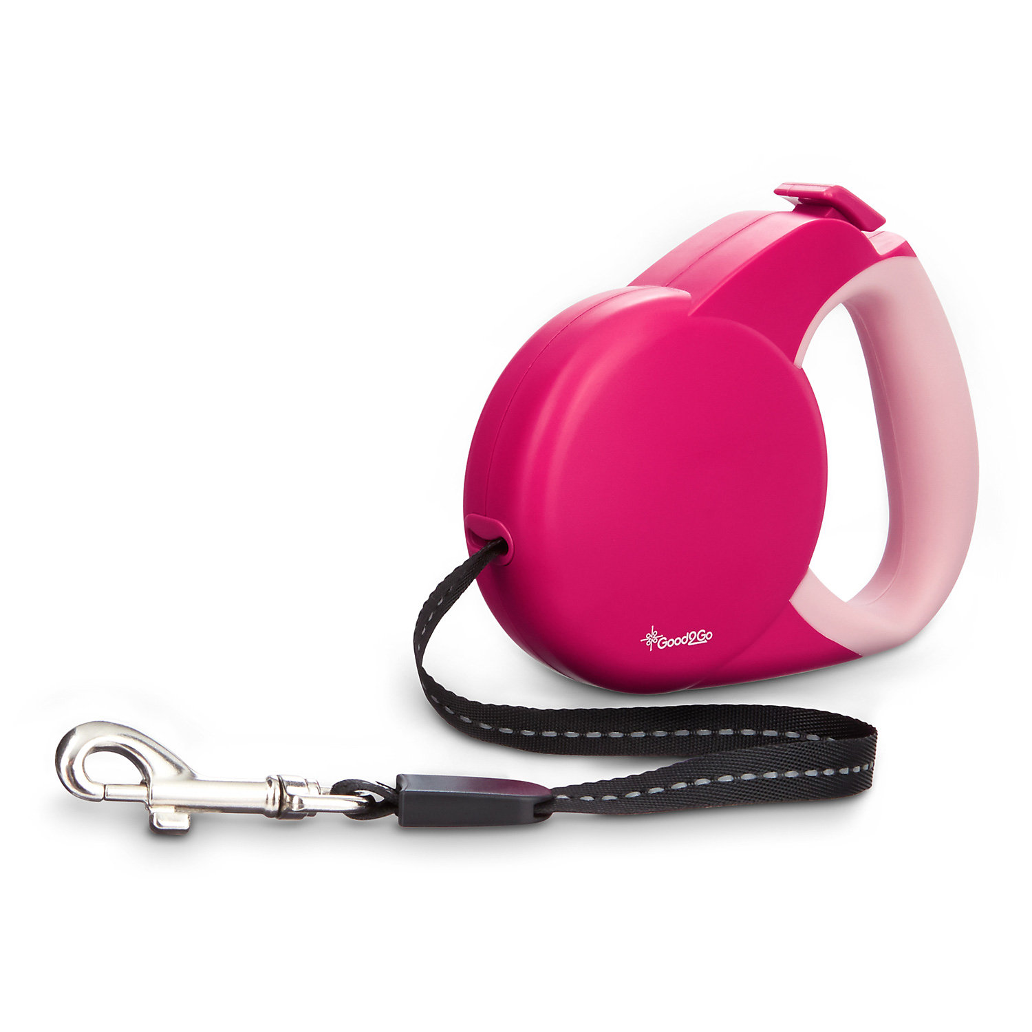 Good2go Retractable Pink Cat Leash Small X Small