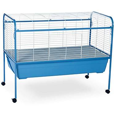 Prevue Pet Products Blue & White Small Animal Cage with Stand
