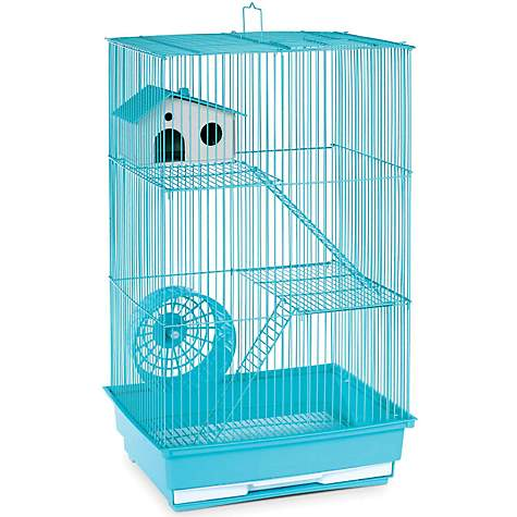 Prevue Hendryx Three Story Mint Green Small Animal Cage