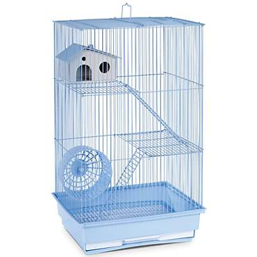 Prevue Pet Products Three Story Light Blue Small Animal Cage