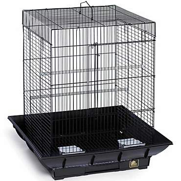 Prevue Hendryx Clean Life Series Bird Cage in Black