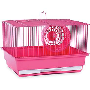 Prevue Hendryx Single Story Pink Small Animal Cage