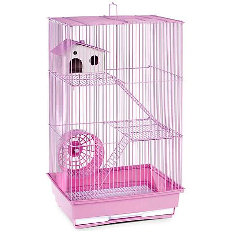 Prevue Hendryx Three Story Lilac Small Animal Cage