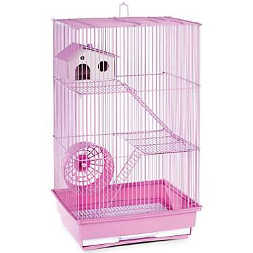 Prevue Pet Products Three Story Lilac Small Animal Cage