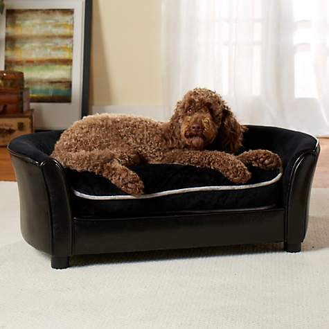 Enchanted Home Pet Ultra Plush Panache Sofa Dog Bed   Petco
