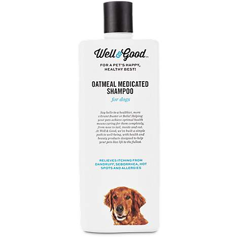 Well & Good Oatmeal Medicated Dog Shampoo