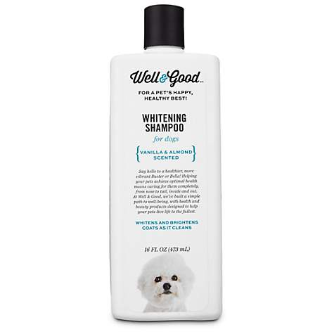 Well & Good Whitening Dog Shampoo
