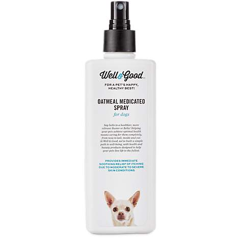 Well & Good Oatmeal Medicated Dog Spray