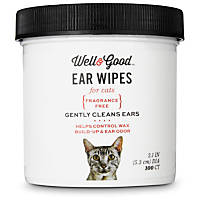 Well & Good Cat Ear Wipes