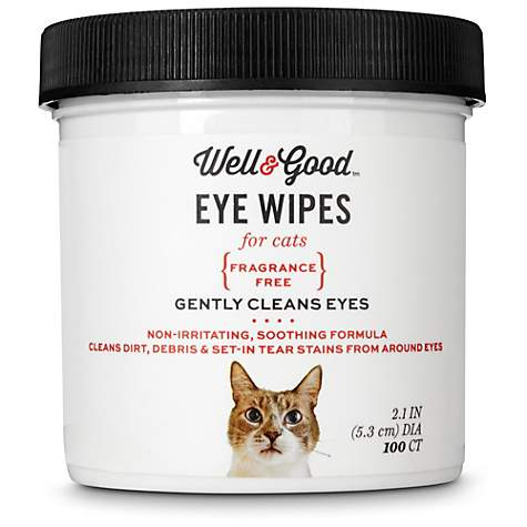 Well & Good Cat Eye Wipes