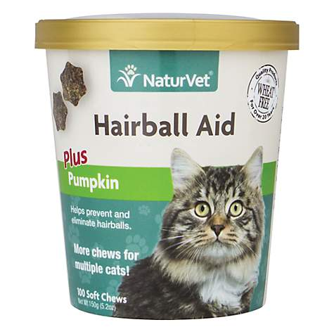 NaturVet Cat Hairball Aid Supplement