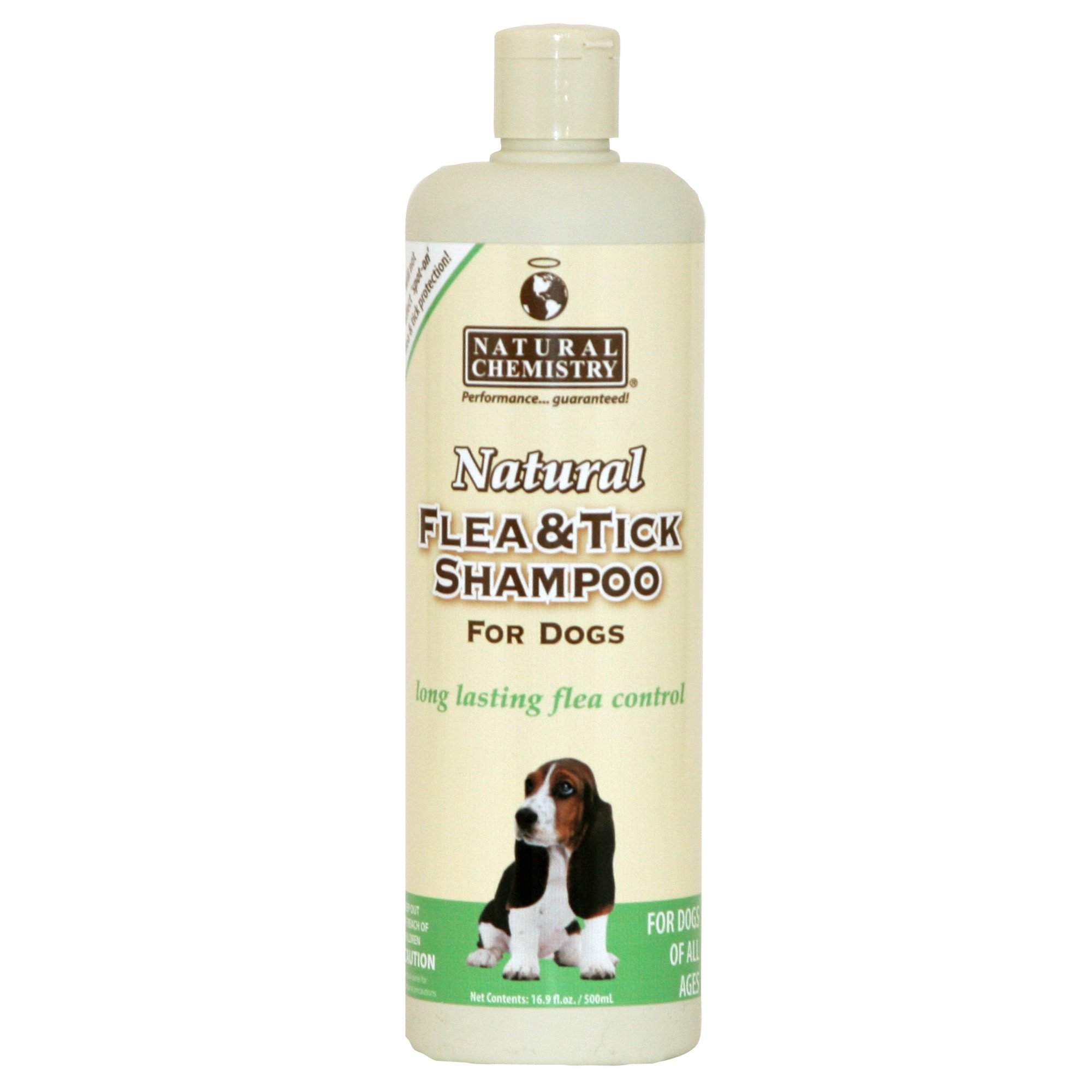Image of Natural Chemistry Flea & Tick Dog Shampoo, 16.9 fl. Oz., 16.9 FZ