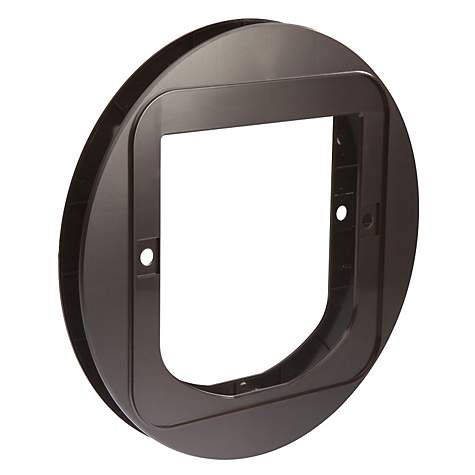 SureFlap Cat Flap Mounting Adapter in Brown