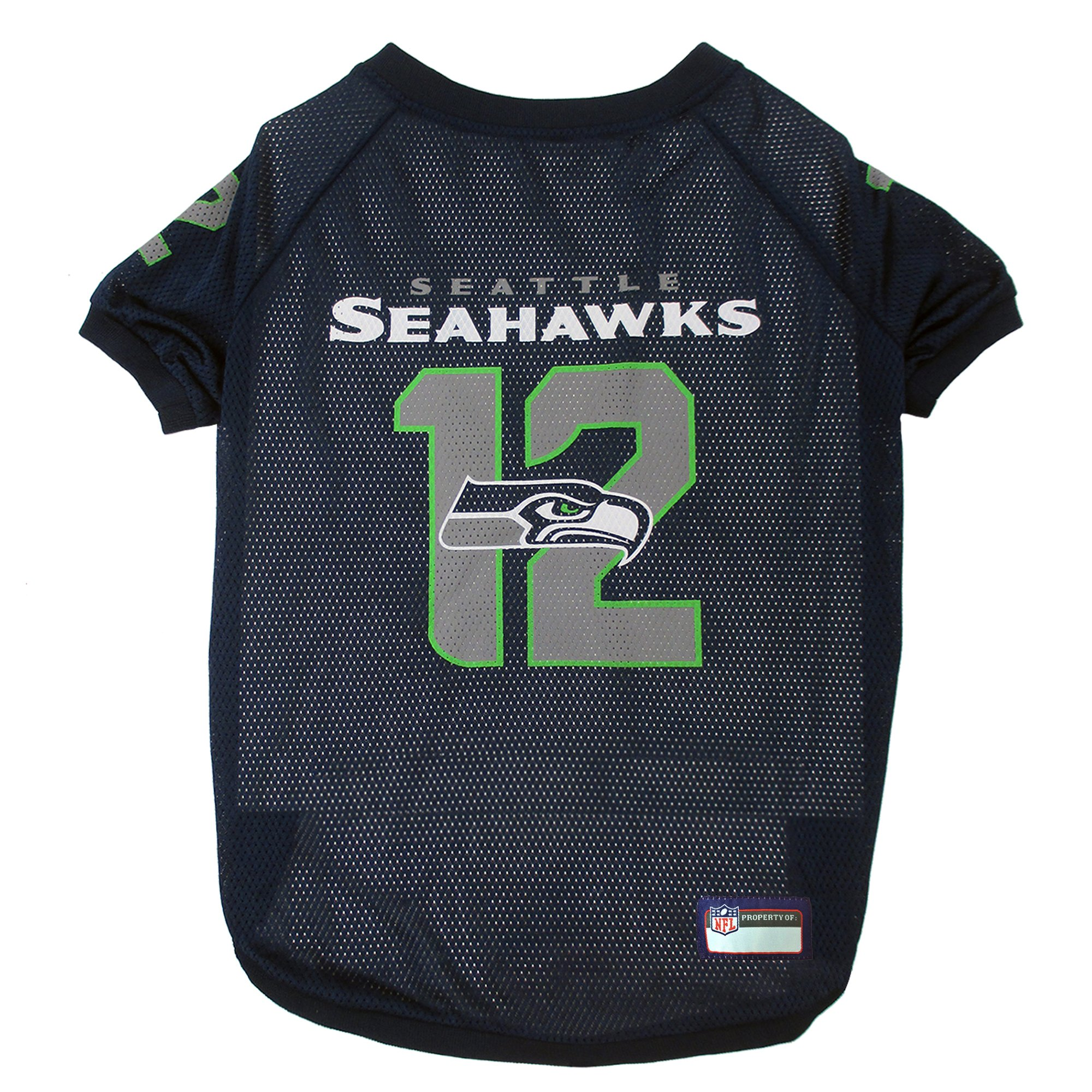 Pets First Seattle Seahawks 12th Man Jersey  b0111f317