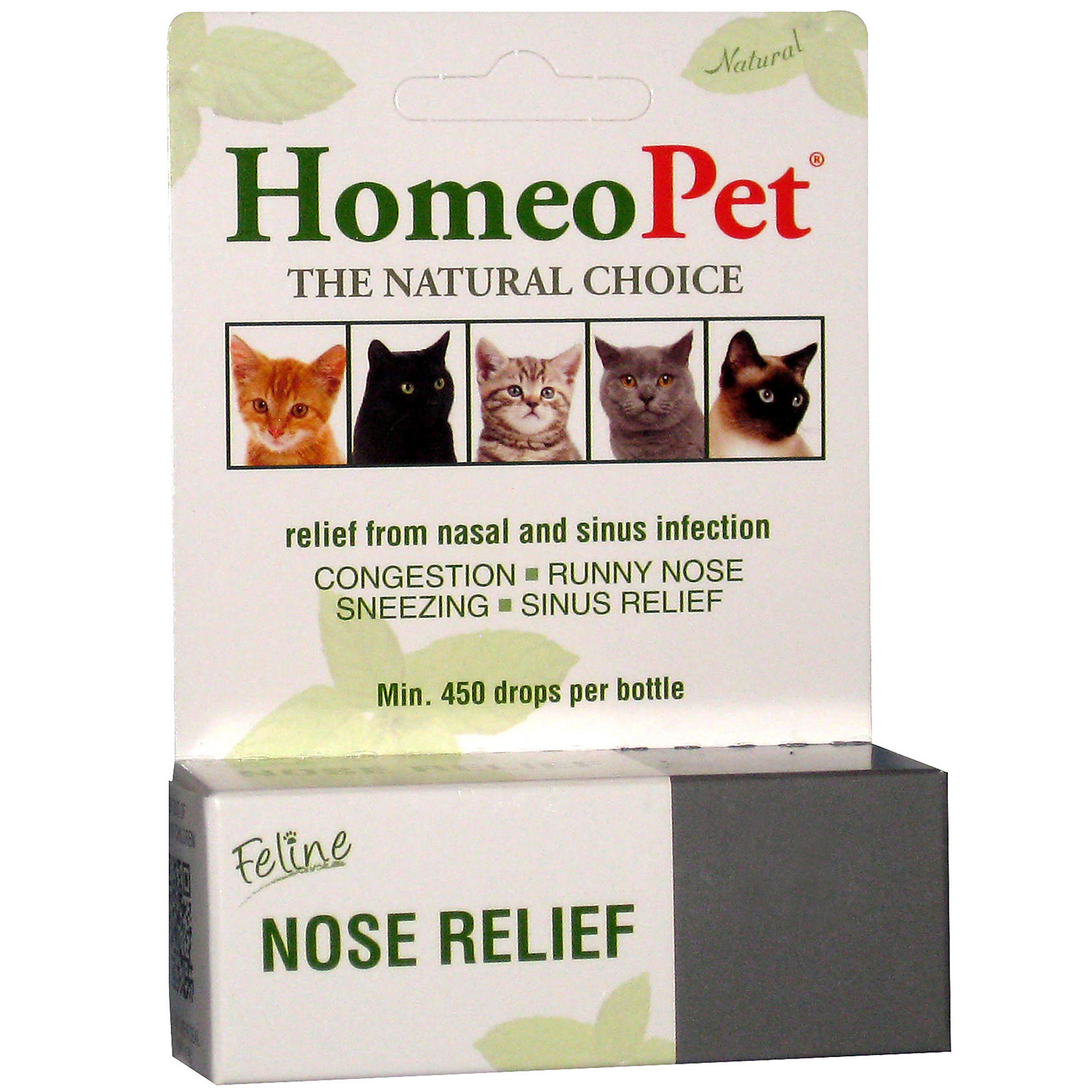 Homeopet Feline Nose Relief, 15 Ml