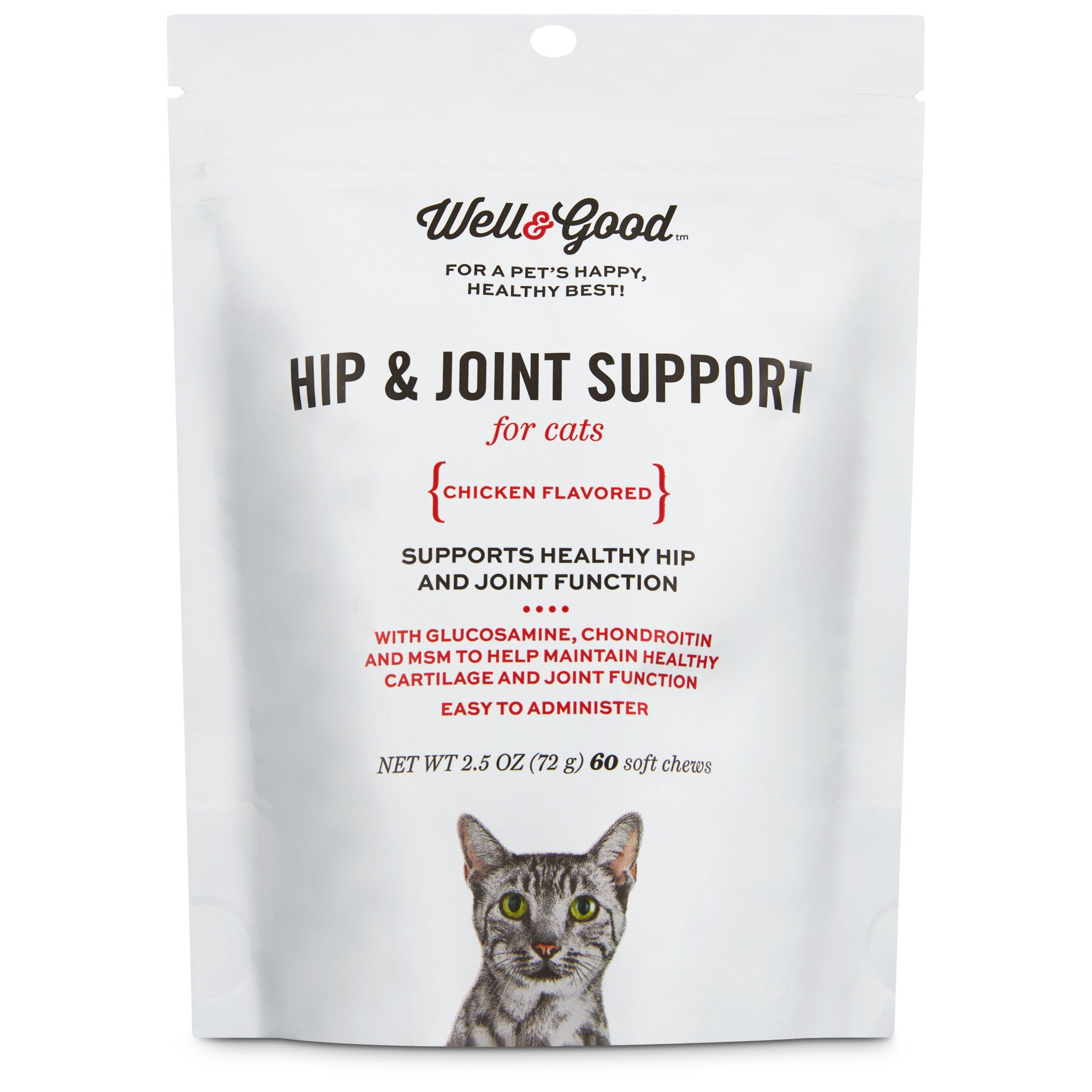 Well Amp Good Hip Amp Joint Support Cat Chews Petco