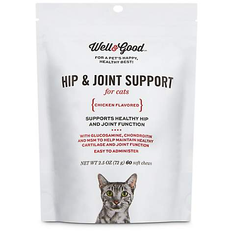Well & Good Hip & Joint Support Cat Chews