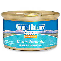 Natural Balance Ultra Whole Body Health Chicken, Salmon & Duck Canned Kitten Food