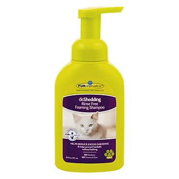 FURminator deShedding Rinse Free Foaming  Shampoo for Cats