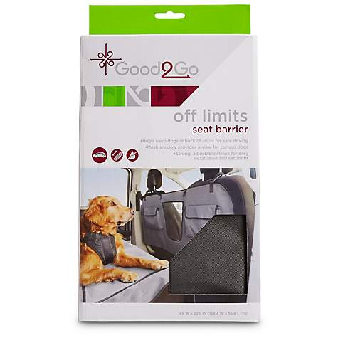 Good2Go Off Limits Car Seat Barrier