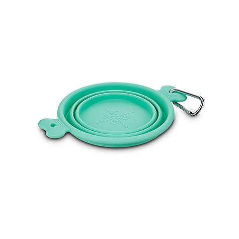 Good2Go Collapsible Silicone Pet Travel Bowl, 1 Cup