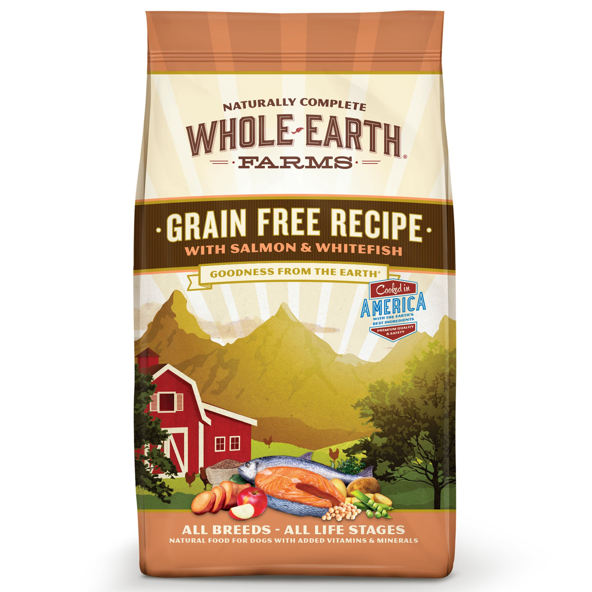 Whole earth farms grain free recipe with salmon whitefish dry dog whole earth farms grain free recipe with salmon whitefish dry dog food petco forumfinder Image collections