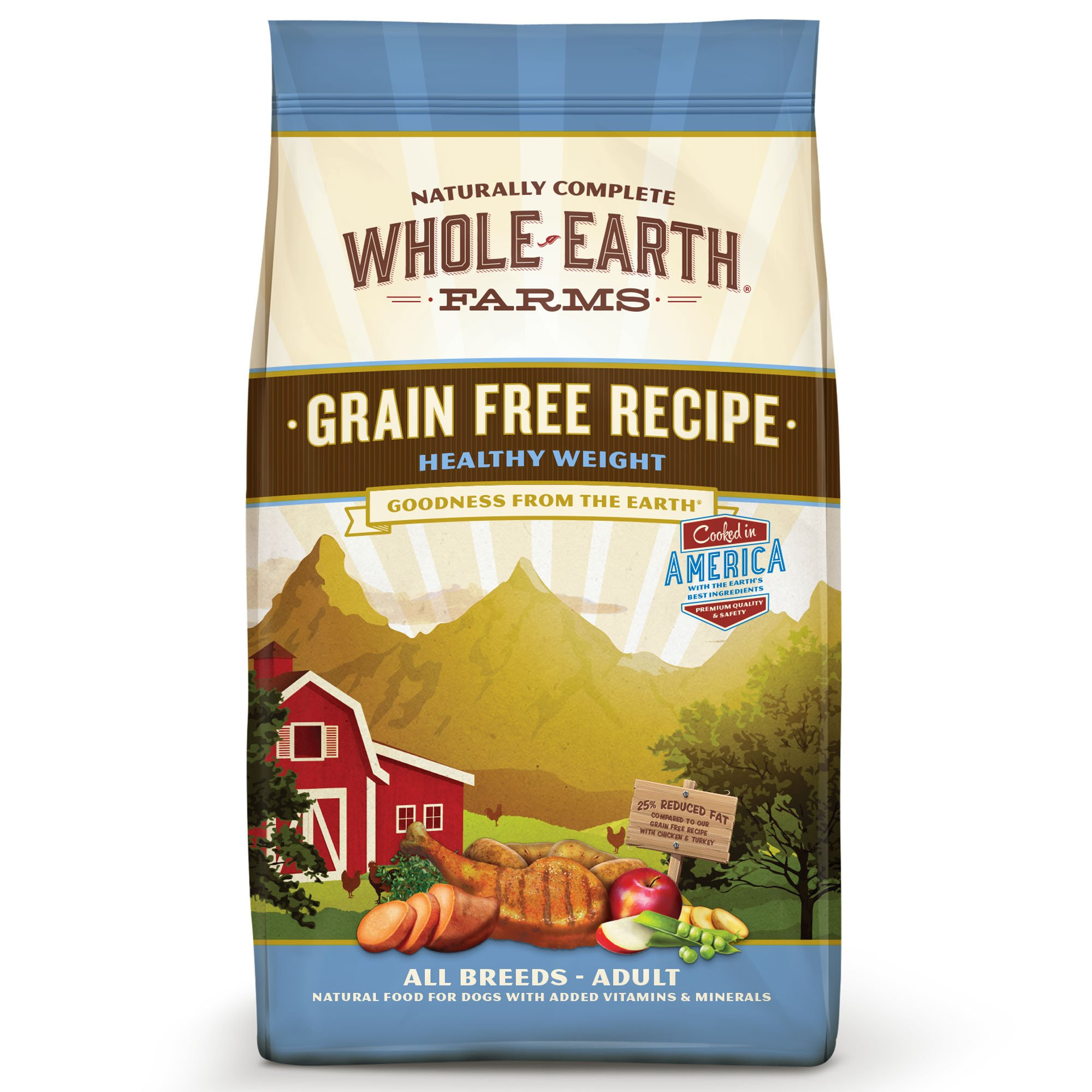 Whole earth farms grain free healthy weight recipe dry dog food petco forumfinder Gallery