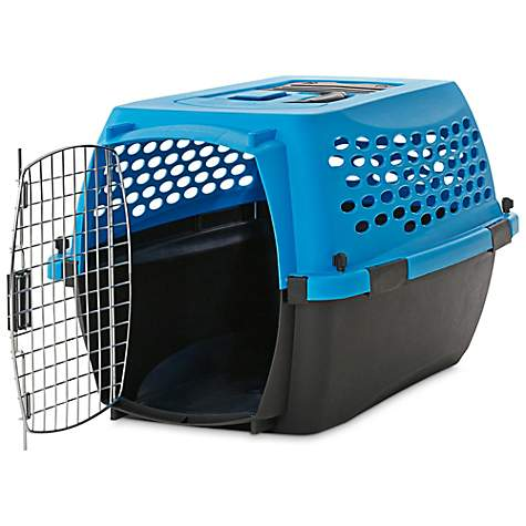 You & Me Relaxing Refuge Dog Kennel, Blue