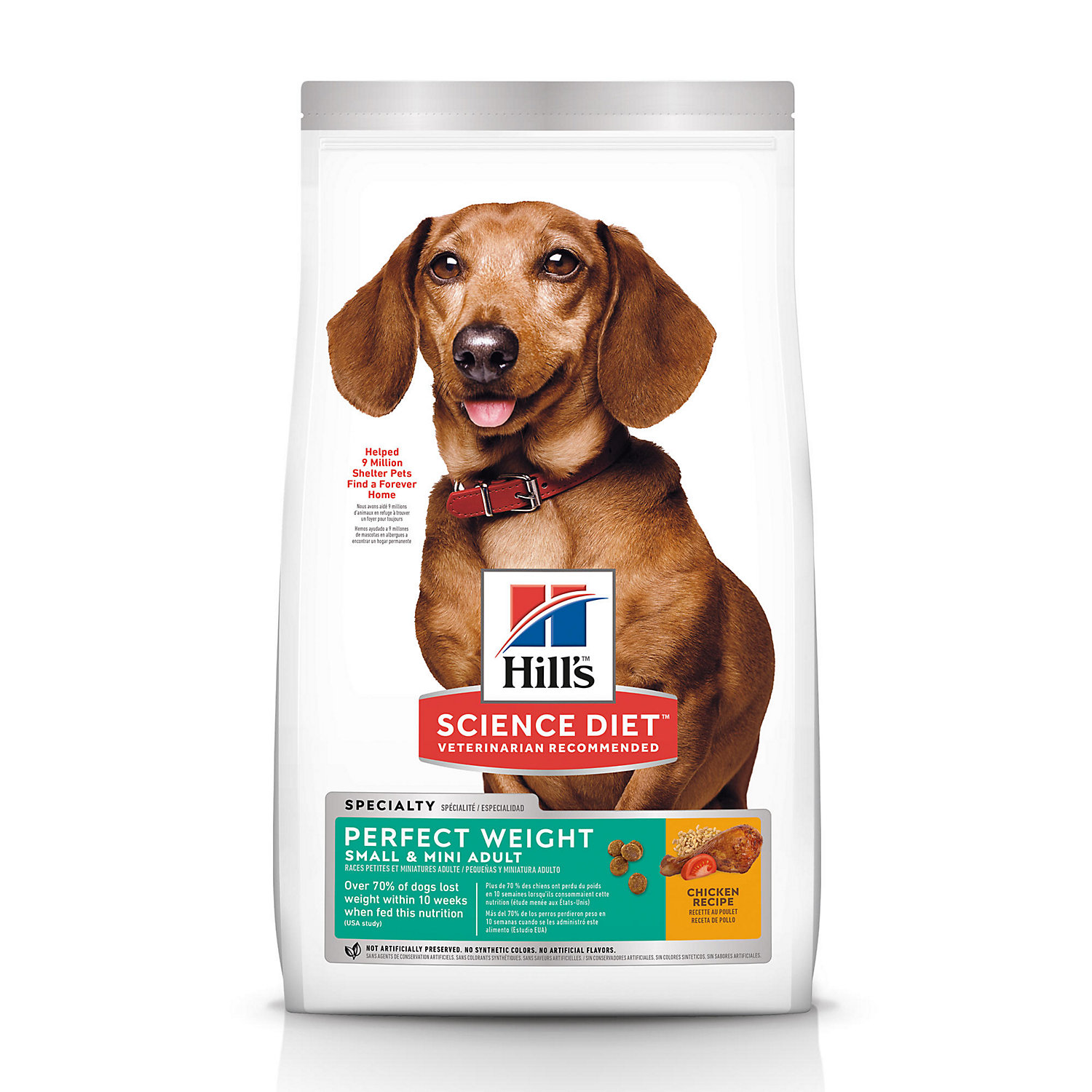 Hills Science Diet Perfect Weight Small Toy Breed Adult Dry Dog Food 15 Lbs.