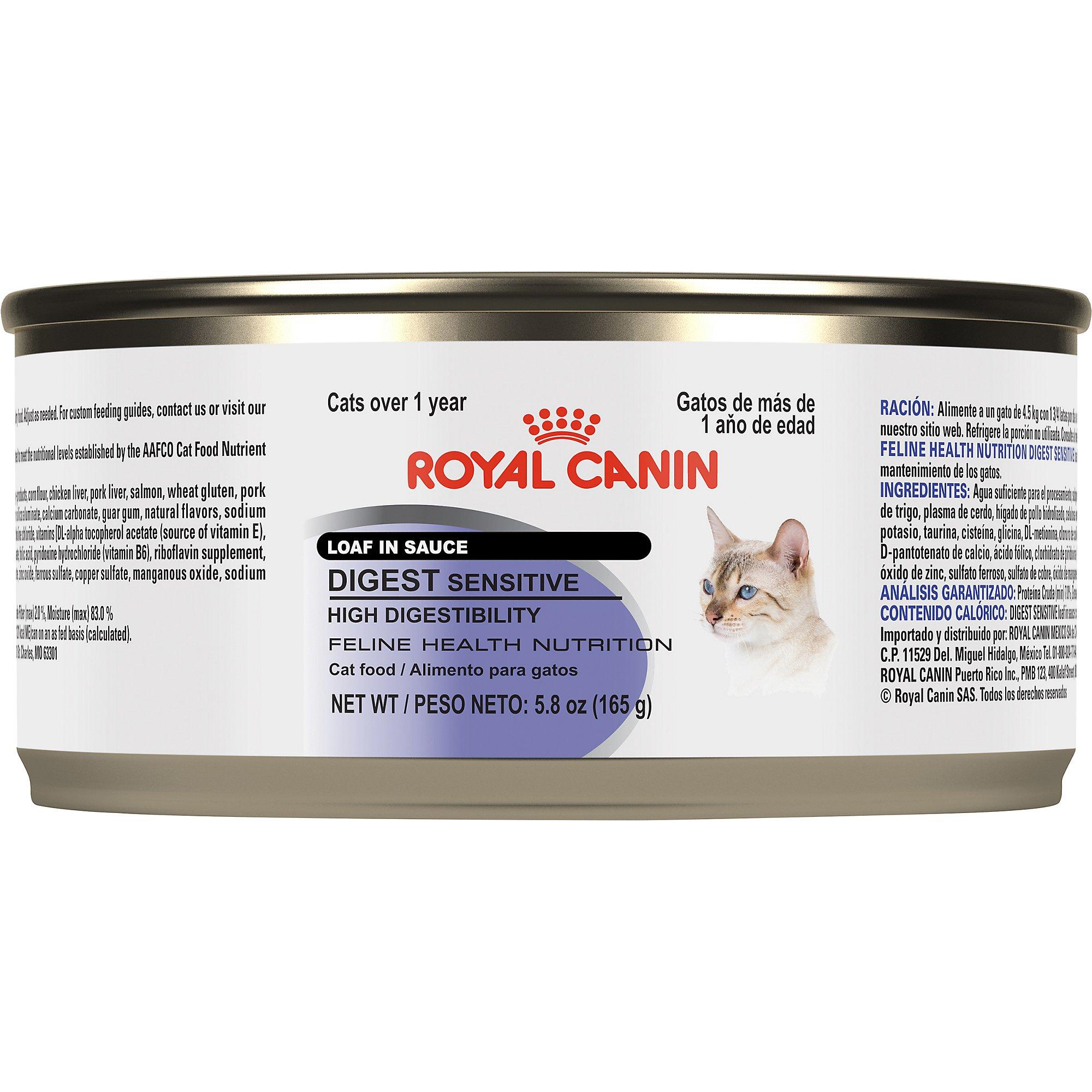 royal canin feline health nutrition digest sensitive loaf in sauce wet cat food petco. Black Bedroom Furniture Sets. Home Design Ideas