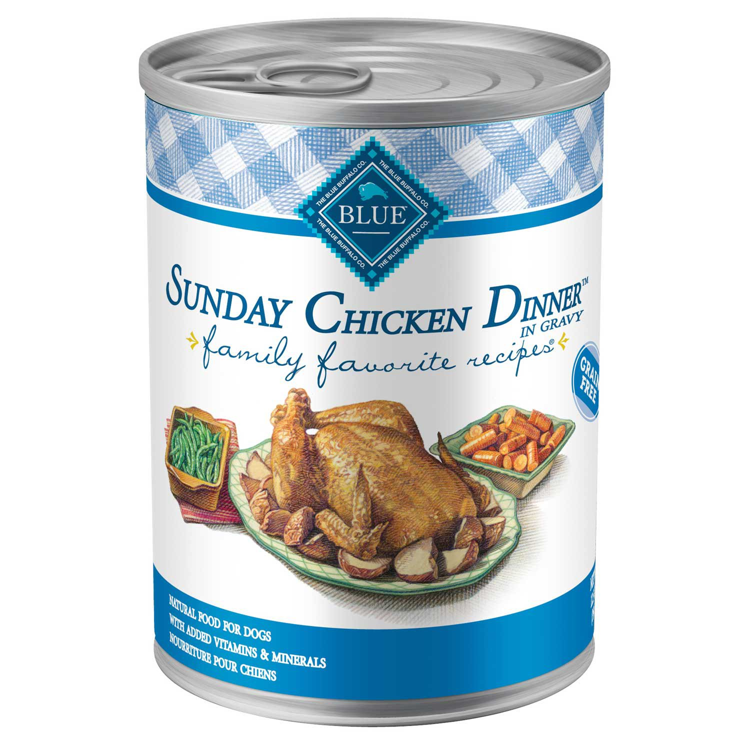 Blue Buffalo Blue Sunday Chicken Dinner Adult Canned Dog
