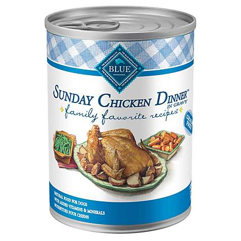 Blue Buffalo Blue Sunday Chicken Dinner Adult Canned Dog Food