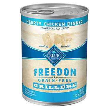 Blue Buffalo Blue Freedom Grain Free Chicken Grillers Canned Dog Food