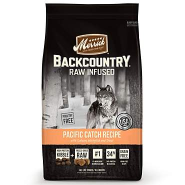 Merrick Backcountry Grain Free Raw Infused Pacific Catch Dry Dog Food