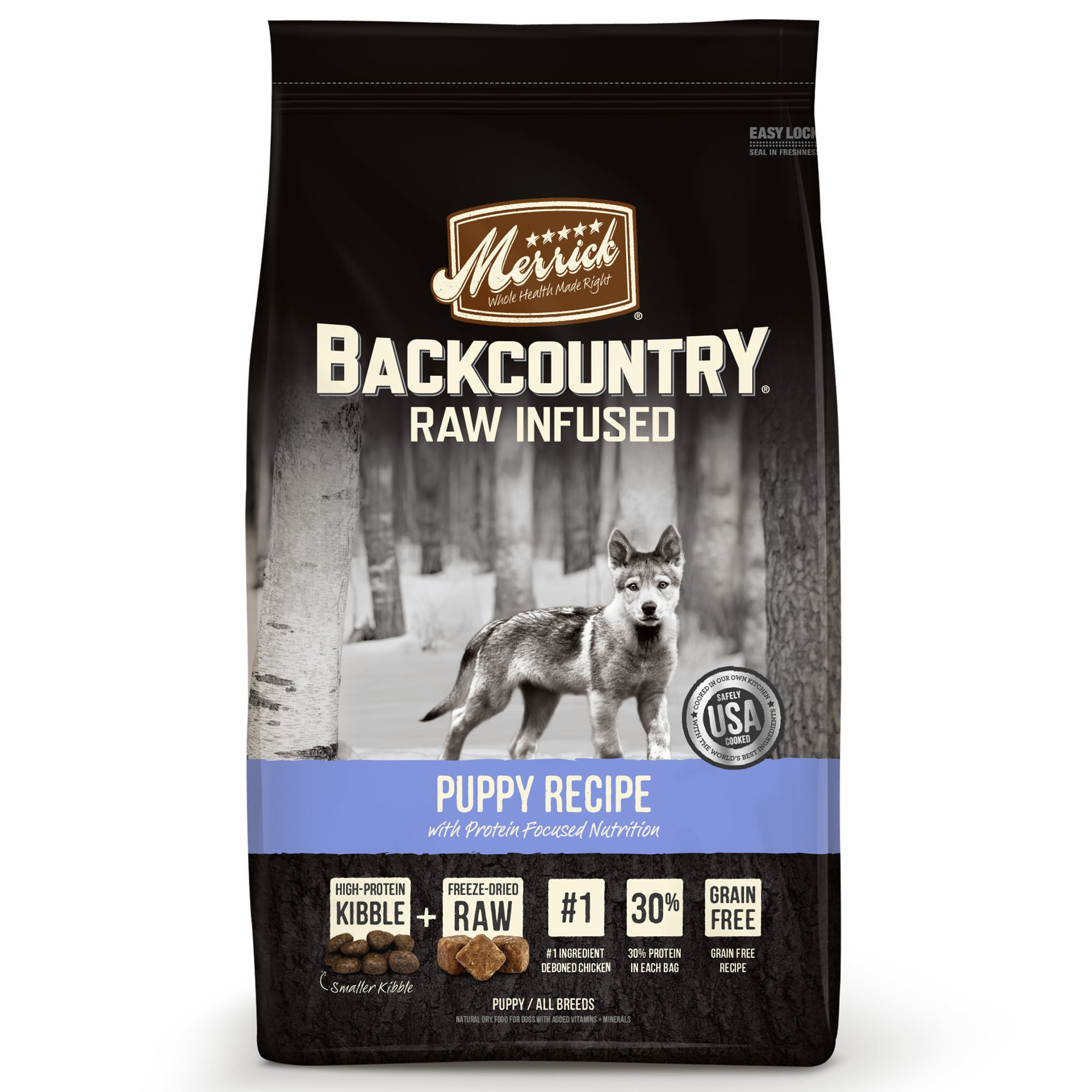 Merrick Backcountry Grain Free Raw Infused Puppy Dry Food Petco
