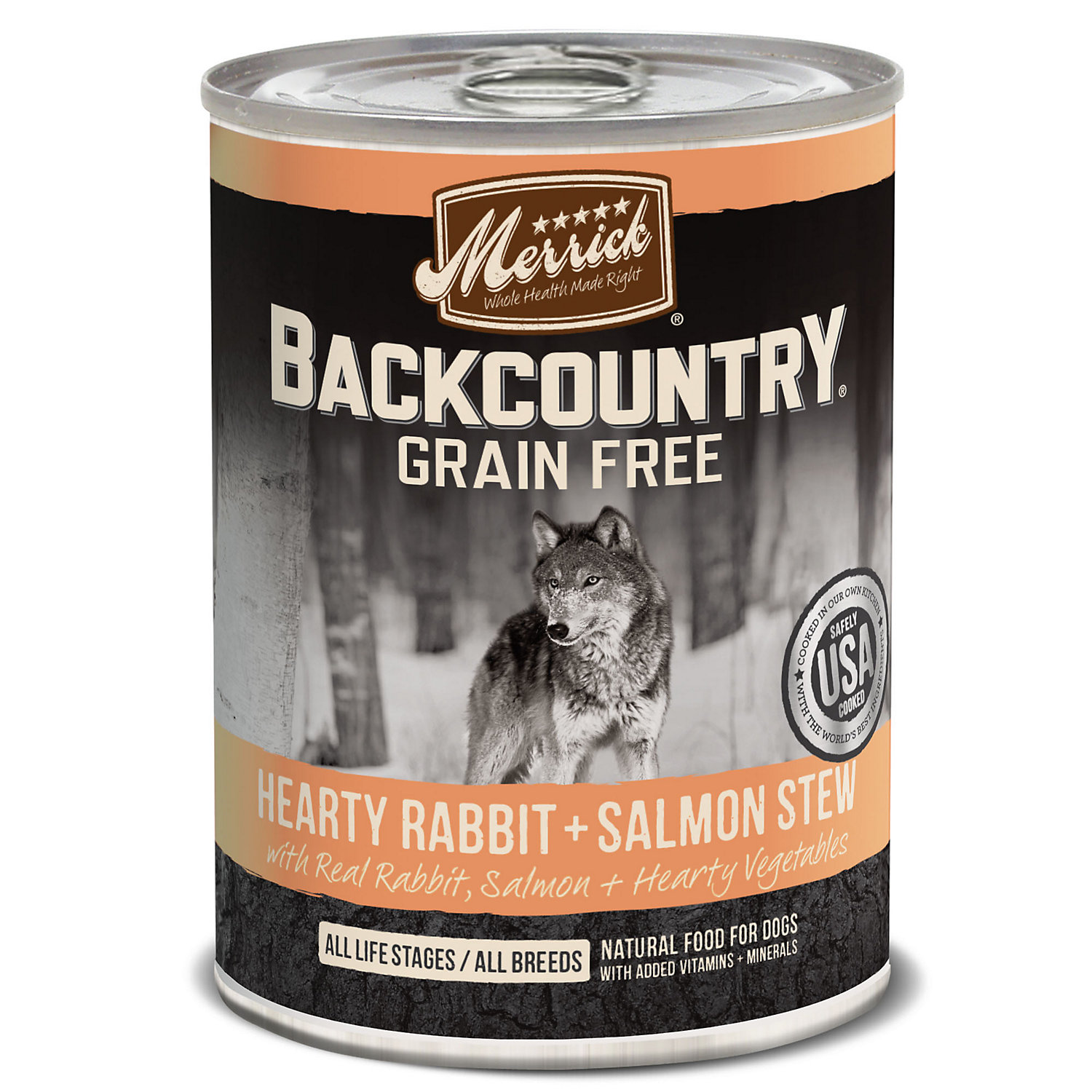 Merrick Backcountry Hearty Salmon Stew Grain Free Wet Dog Food