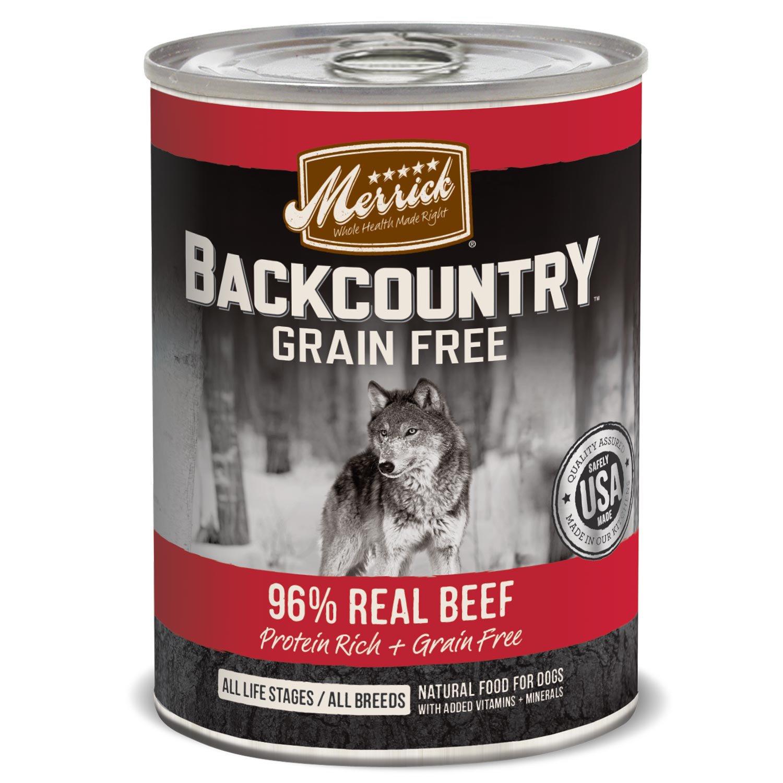 Merrick Grain Free Canned Dog Food