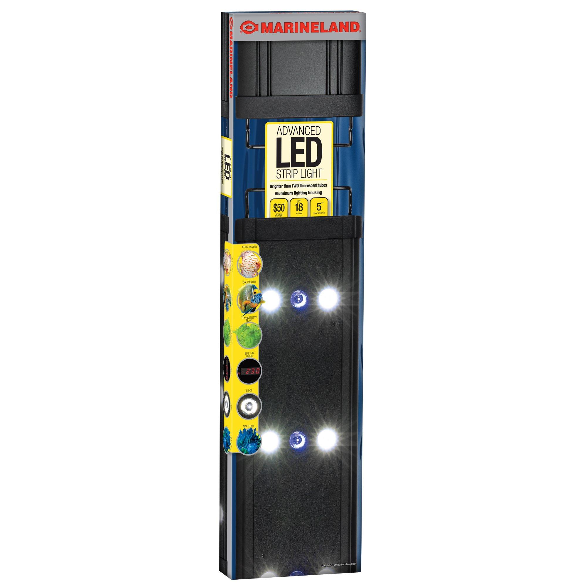 Marineland Advanced LED Aquarium Strip Light, 18 in | Petco