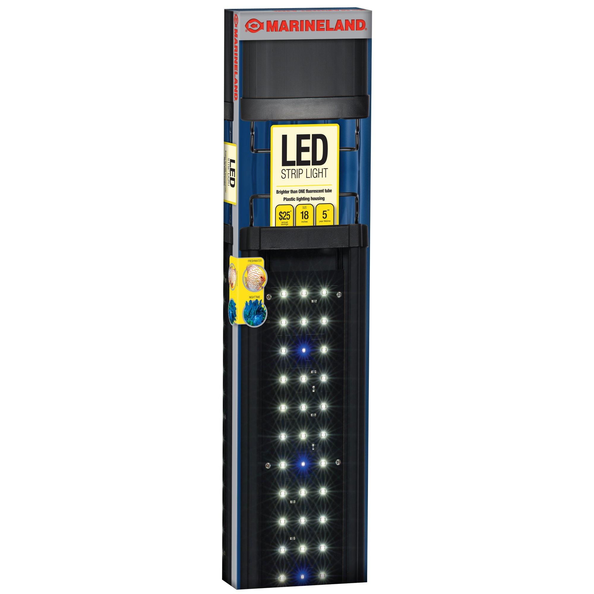 Using Shop Lights For Aquarium: Marineland LED Aquarium Strip Light, 18 In