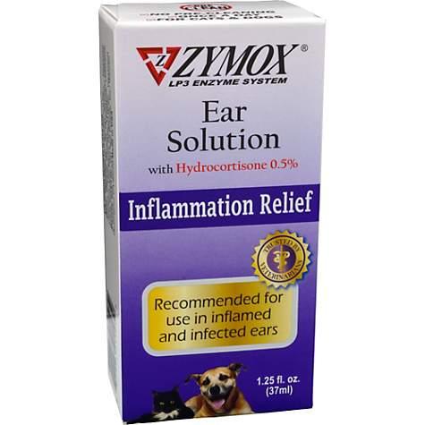 Zymox Ear Solution with  5% Hydrocortisone, 1 25 fl  oz