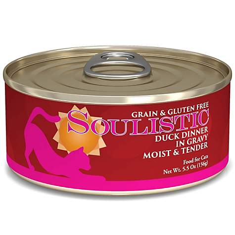 Soulistic Moist & Tender Duck Dinner Adult Canned Cat Food in Gravy