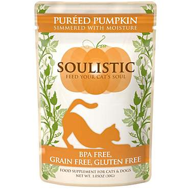 Soulistic Pureed Pumpkin Food Supplement for Cats & Dogs